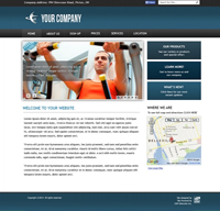 Fitness Builder Free Website Design 02 - OSM Websites Belleville | Hamilton
