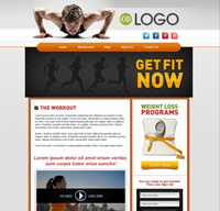 Fitness Builder Free Website Design 05 - OSM Websites Belleville | Hamilton