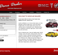 Showcase Free Website Design 04 - OSM Websites Belleville | Hamilton