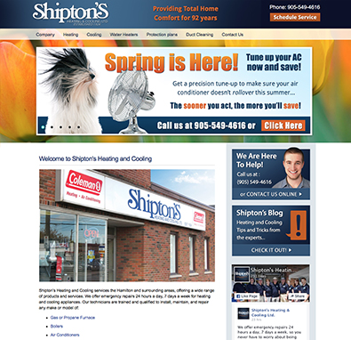 Marketing Case Study - Shipton's Heating and Cooling