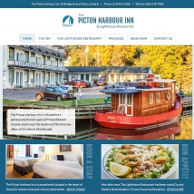 Custom Web Design, Picton Harbour Inn