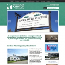 Ministry Builder Websites - South Shore Church