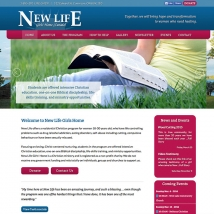 Ministry Builder Websites - New Life Girls Home