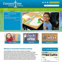 Ministry Builder Websites - Cornerstone Christian Academy