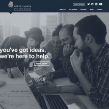 Custom Web Design, Upper Canada Equity Fund